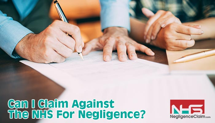 claim against nhs